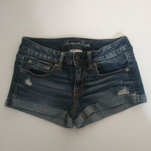 American Eagle Outfitters Women's Jean shorts.